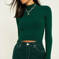 UO Variegated Funnel Neck Jumper | Urban Outfitters