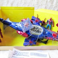 The Amazing Spider-Man Web Copter Toy NIB Playset Action Figure Missiles Marvel
