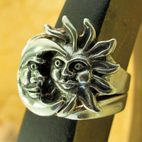 Silver Eclipse Ring