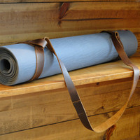 Leather Yoga Mat Strap