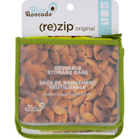Blue Avocado Lunch Zip Bag - Kiwi - 2 Pack