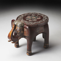 Elephant Round Accent Table