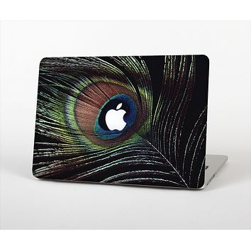 """The Dark Peacock Spread Skin Set for the Apple MacBook Pro 13"""" with Retina Display"""