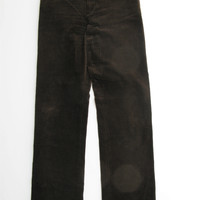 Ralph Lauren Black Label Chocolate Brown Corduroy Pants 8