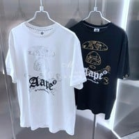 hcxx 19May 2227 Aape Camouflage bone printed short-sleeved T-shirt