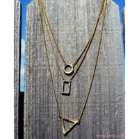 Shape Up Layered Necklace