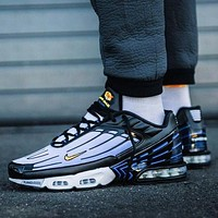 Nike air max plus 3 tn sneaders sports shoes line shoes small hook blue