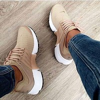 Tagre™ simpleclothesv :NIKE Air Presto Khaki Fashion Women/Men Running Sport Casual Cushion Shoes Sneakers