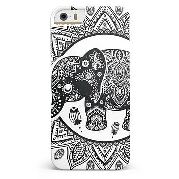 Indian Mandala Elephant iPhone 5/5s or SE INK-Fuzed Case