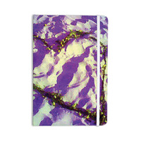 """Anne LaBrie """"Purple Tiger Love"""" Purple Yellow Everything Notebook"""