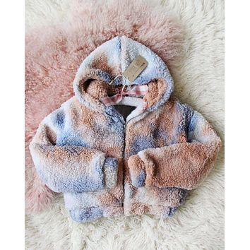 Snowy Daydream Coat in Cloud