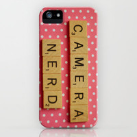 Camera Nerd. iPhone Case by dullbluelight