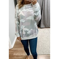 Feel The Beat Camo Sweatshirt