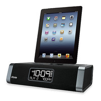 iHome® Stereo FM Clock Radio with Lightning Dock and USB