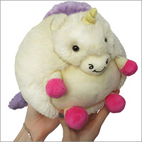 Mini Squishable Candy Unicorn: An Adorable Fuzzy Plush to Snurfle and Squeeze!