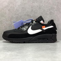 """Off-White x Nike Air Max 90 """"Black"""" - Best Deal Online"""