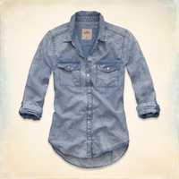 Emma Wood Denim Shirt