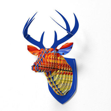 DENY Designs Home Accessories | Madart Inc. Whirlwind Faux Deer Mount