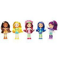 Hasbro, Strawberry Shortcake, Berry Best Collection Doll Set, 7 Inches, 5-Pack