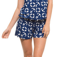 Anchors Down Bottoms Up Romper