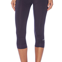 adidas by Stella McCartney 3/4 Perforated Studio Tights in Purple