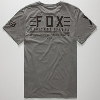 Fox Blurred Mens T-Shirt Heather  In Sizes