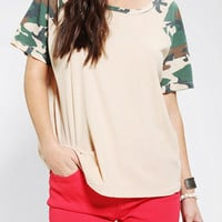 Truly Madly Deeply Penny Raglan Tee