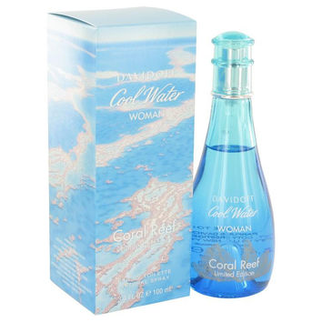 Cool Water Coral Reef by Davidoff Eau De Toilette Spray (Limited Edition) 3.4 oz
