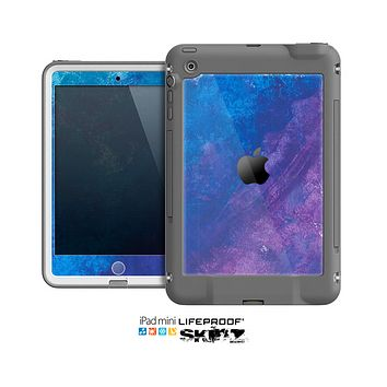 The Blue & Purple Pastel Skin for the Apple iPad Mini LifeProof Case