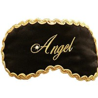 "Silk Satin ""Angel"" Sleep Mask"
