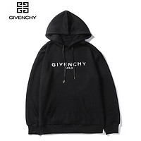 Givenchy fashion sells pure cotton loop hoodies for casual hoodies Black