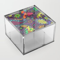 Botanic 2 Acrylic Box by duckyb