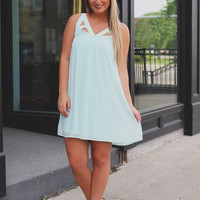 Breath of Fresh Air Dress - Mint