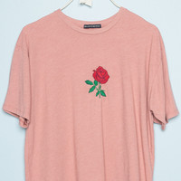 Aleena Rose Embroidery Top - Embroidery - Graphics
