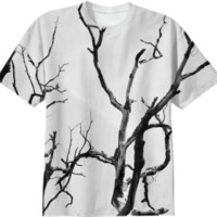 Branches T-Shirt created by PoseManikin | Print All Over Me