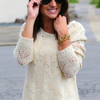 "My ""Go-To"" Sweater {Ivory}"