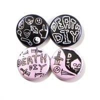 Death DIY Button Pack