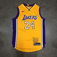 KOBE BRYANT LIMITED EDITION RETIREMENT JERSEY