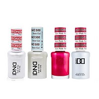 DND - #500#600 Base, Top, Gel & Lacquer Combo - Hot Pink Patrol - #681