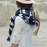 Cozy Buffalo Plaid Scarf