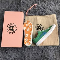 Brand New Tyler The Creator One Star x Golf Le Fleur TTC Solar Yellow 160323C Sneaker Trainers Shoes Canvas shoes With box
