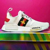 Adidas  nmd BEE Trending Fashion Casual Sports Shoes