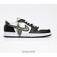 Dior x Air Jordan 1 Low Sneakers Shoes