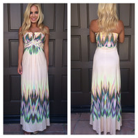 Macramé Kianga Maxi Dress By SKY - V705ZQ
