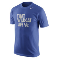 Nike College Basketball Mascot Life (Kentucky) Men's T-Shirt Size XL (Blue)