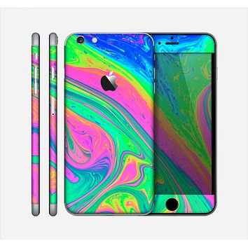 The Neon Color Fushion V3 Skin for the Apple iPhone 6 Plus