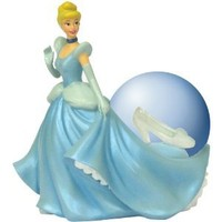Westland Giftware Cinderalla's Glass Slipper Water Globe, 45mm