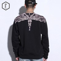 Round-neck Pullover Summer Men's Fashion Hoodies [8822200387]