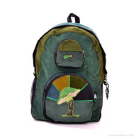 Groovy Mushroom Corduroy Backpack on Sale for $55.00 at HippieShop.com
