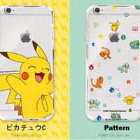 POKEMON Case iphone 5/6/6splus Samsung